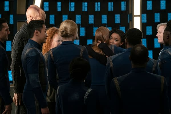 STAR TREK: DISCOVERY. Photo Cr: Michael Gibson/CBS ©2020 CBS Interactive, Inc. All Rights Reserved.