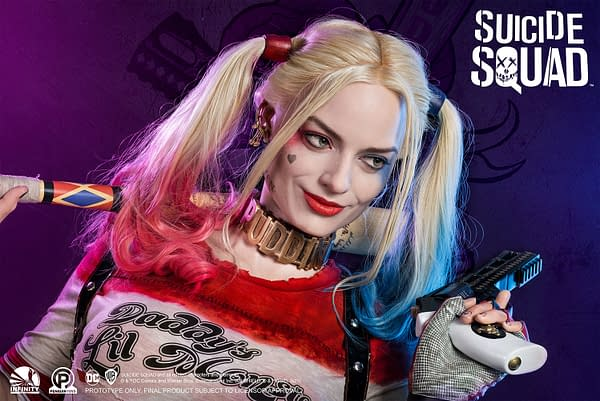 Harley Quinn Gets Life-Size Suicide Squad Bust From Infinity Studio