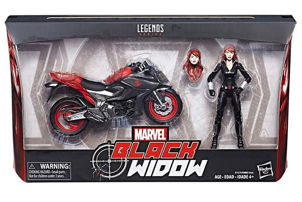 Marvel Legends Ghost Rider And Black Widow Cycles Coming Soon