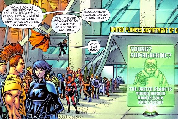Brian Bendis Bringing the Legion's United Planets into DC Continuity