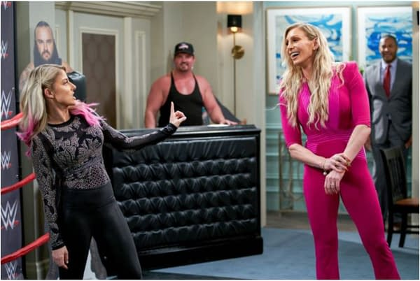Punky Brewster: WWE's Alexa Bliss and Charlotte Flair to Appear
