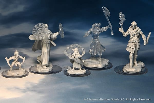 A look at some of the designs you can get in the Critical Role sets, courtesy of WizKids.