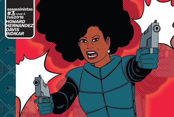 Assassinistas #3 cover by Gilbert Hernandez
