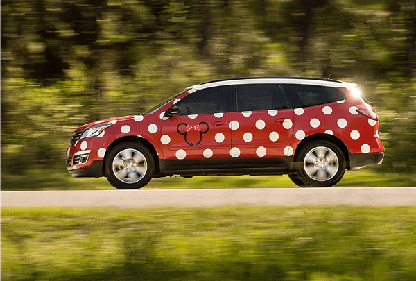 D23: Disney Will Be Ferrying You Around In A Minnie Van Uber-like Service
