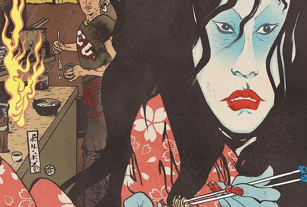 Hungry Ghosts #1 cover by Paul Pope