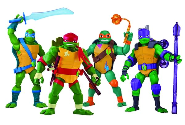 New York Toy Fair: Rise of the Teenage Mutant Ninja Turtles Figures Debut From Playmates