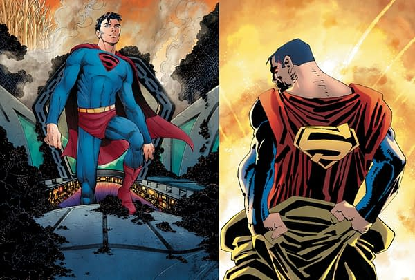Dan DiDio Reveals a New Cover for Frank Miller's Superman: Year One