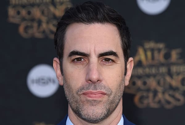 "Sacha Baron Cohen arrives to the ""Alice Through The Looking Glass"" American Premiere on May 23, 2016 in Hollywood, CA. Editorial credit: DFree / Shutterstock.com"