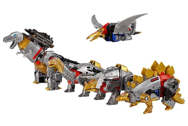 Transformers Dinobots Return to Form Volcanicus with Hasbro