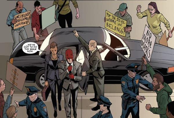 Both Marvel and DC Comics Now Have Anti-Mask Protests