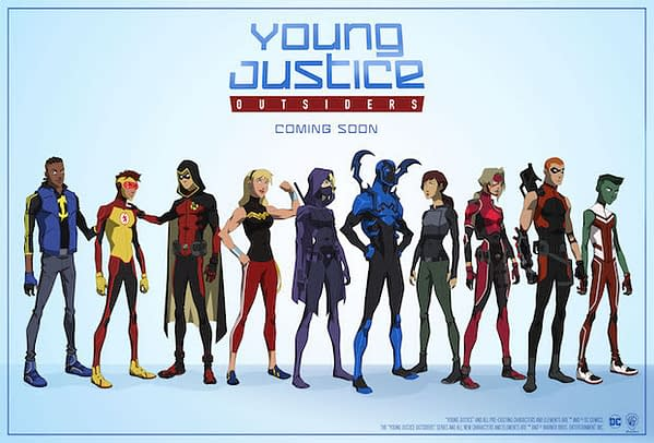 Mike W Barr Replies to Young Justice: Outsiders Comments