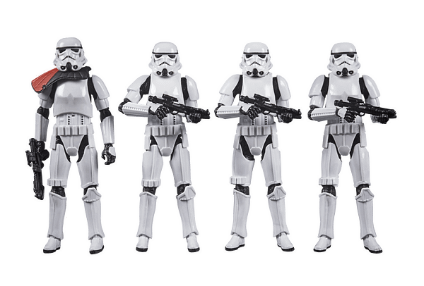 Hasbro Unveils Star Wars Stormtrooper Army Building 4-Pack Set