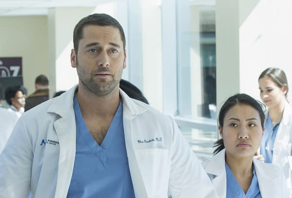 First Look at Ryan Eggold and Freema Agyeman in New Amsterdam