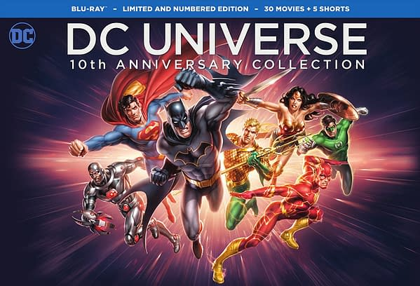 Trailer For DC Universe Original Movies: 10th Anniversary Collection – Additional Content And An NYCC Panel