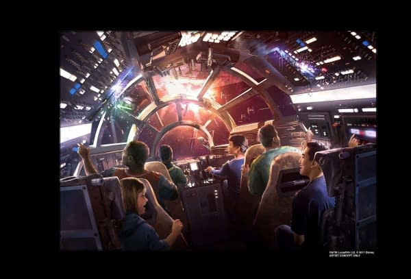 So About That Millennium Falcon Ride Coming to Disneyland