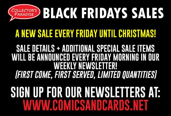 Black Friday Sales In 50 Comic Book Stores Today