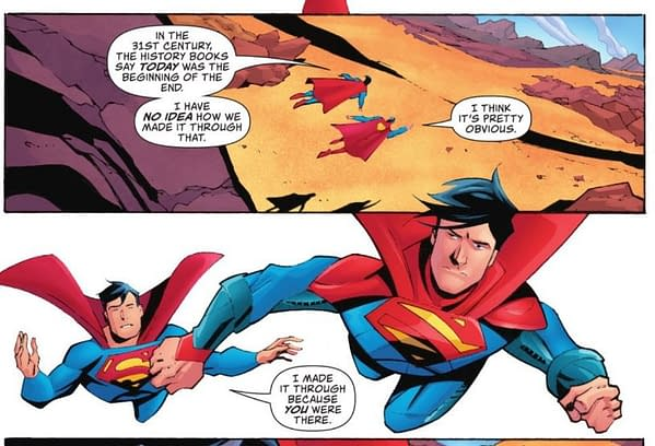 The Death Of Superman And Changing The Future In Action Comics #1029