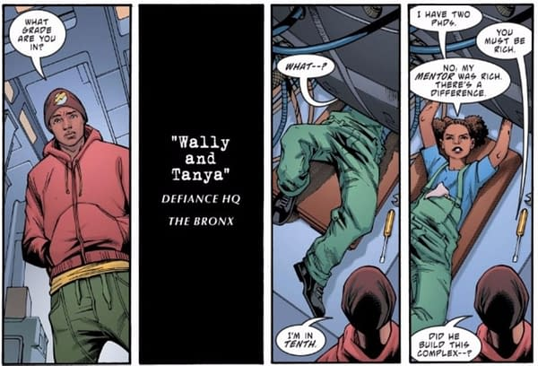 Jeremy Whitely And The Tanya Spears Power Girl Comic That Wasn't