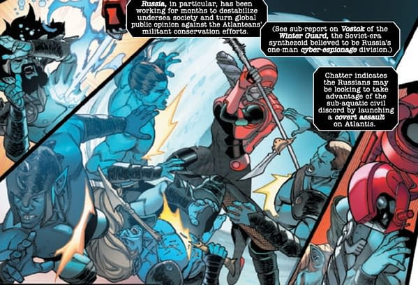 Avengers #49 All About Russia
