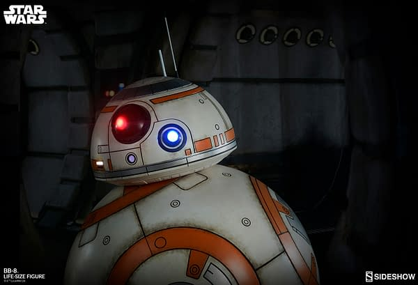 Sideshow Collectibles Star Wars Life Size BB-8 1