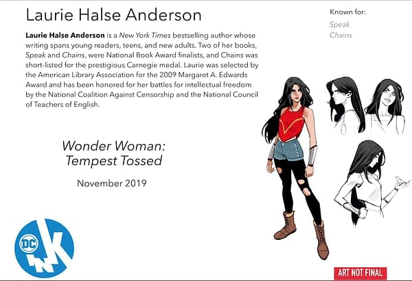 A Teenage Wonder Woman Becomes a Refugee in Laurie Halse Anderson's 'Tempest Tossed'