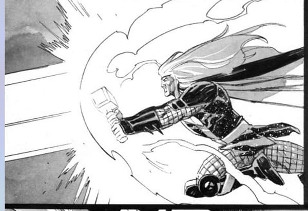 Donny Cates and Nic Klein on upcoming Thor.