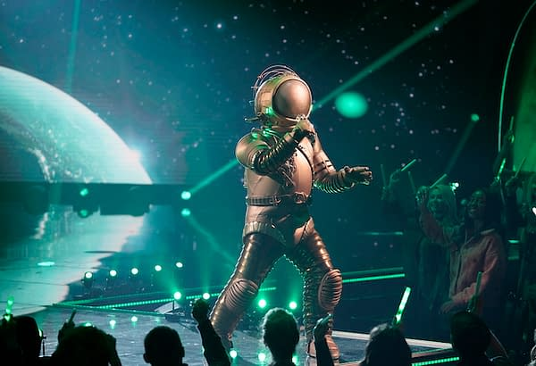 The Astronaut touched down on planet The Masked Singer for the last time, courtesy of FOX.