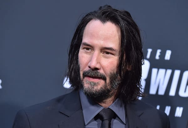 Keanu Reeves arrives for the John Wick: Chapter 3 - Parabellum' L.A. Special Screening on May 15, 2019 in Hollywood, CA. Editorial credit: DFree / Shutterstock.com