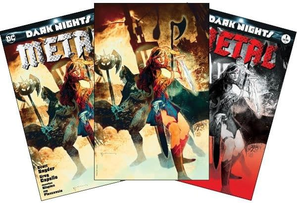 Forbidden Planet Sells Dark Nights: Metal #1 And Other DC Comics At 7pm ET This Tuesday