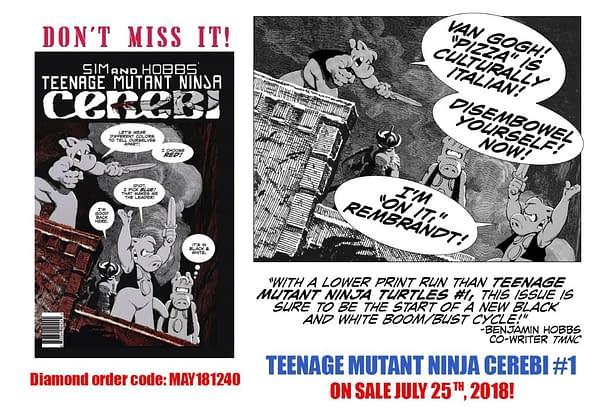 Meet Rembrandt, Van Gogh, Pollock and Picasso, the Teenage Mutant Ninja Cerebi