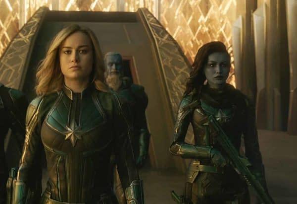 Gemma Chan Talks 'Captain Marvel' Character Minn-Erva