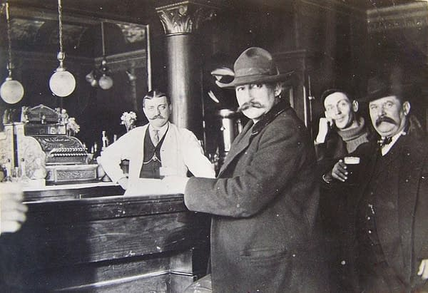 Seth Bullock and Theodore Roosevelt, Montana, 1903