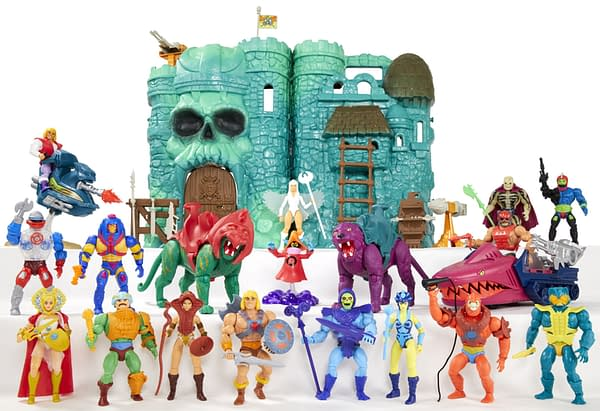 Masters of the Universe Castle Greyskull Play Set Returns from Mattel