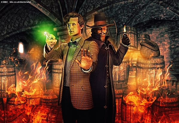 The New Doctor Who Game – The Gunpowder Plot