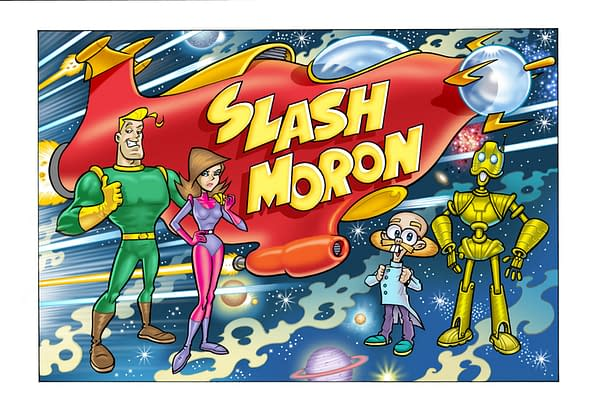 "After Over Thirty Years Of Working in Comics, Bambos Georgiou Brings Us ""Slash Moron"""