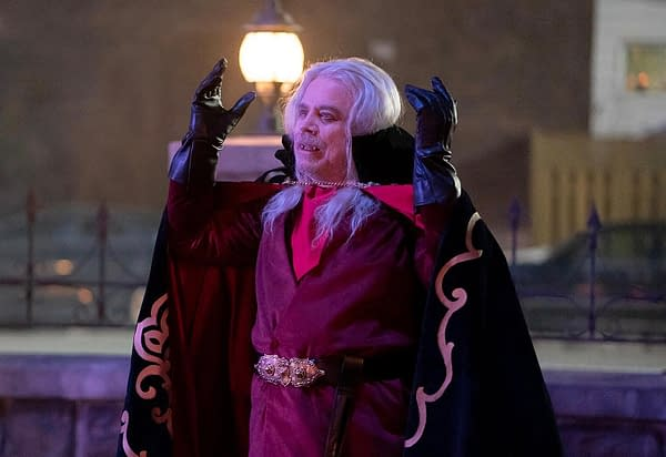 Mark Hamill guest stars on What We Do in the Shadows, courtesy of FX Networks.