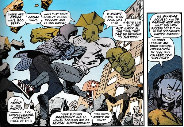 Even the Villains of Savage Dragon Have Major Issues With Donald Trump (#232 SPOILERS)