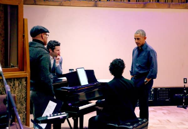 Lin-Manuel Miranda Shares FINAL Hamildrop: Featuring Barack Obama