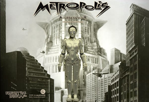The Metropolis Robot Gets Her Own Figure From Executive Replicas