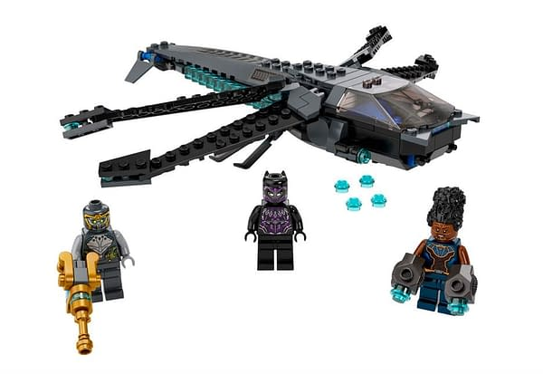 Captain America and Black Panther Kid-Friendly LEGO Sets Arrive