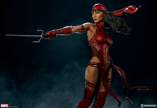Sideshow Collectible Premium Format Figure Elektra 3