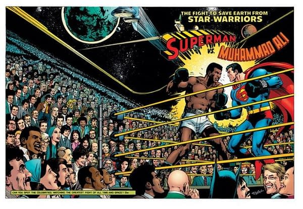 Superman Vs Muhammad Ali is Now One Of DC's Best-Selling Comics