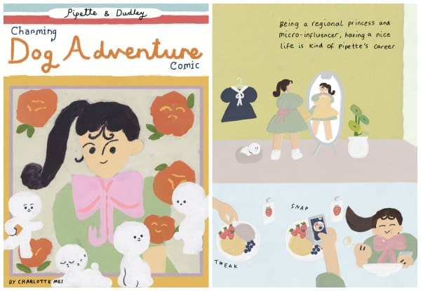 Pippette and Dudley's Charming Dog Adventure by Charlotte Mei