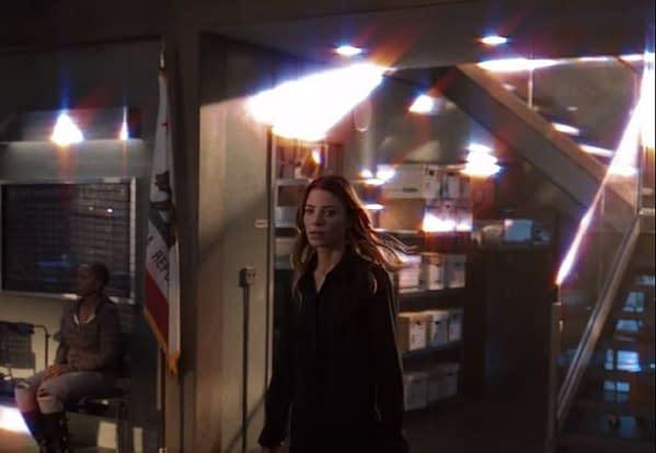 Lucifer offered a brief peek at Season 5B (Image: screencap)