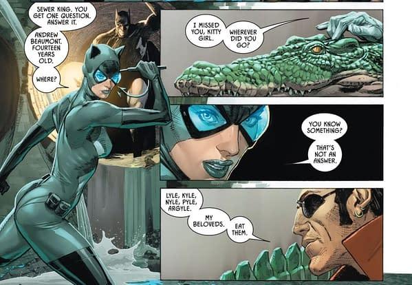 Did The Joker Kill Batman's Son In Batman/Catwoman?