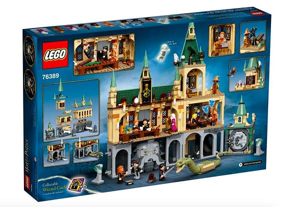 LEGO Unlocks the Chamber of Secrets With New Harry Potter Set