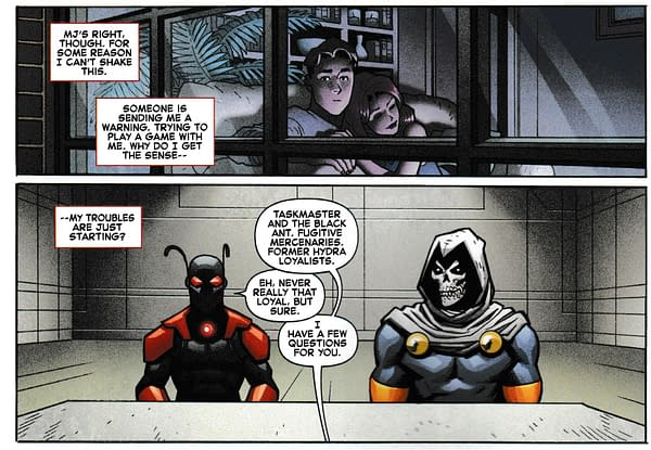 Nick Spencer Manages to Get a Quick Secret Empire Mention Into Amazing Spider-Man #5