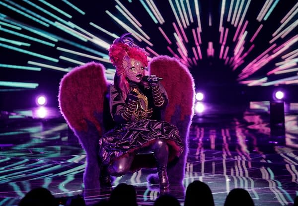 Night Angel on The Masked Singer, courtesy of FOX.