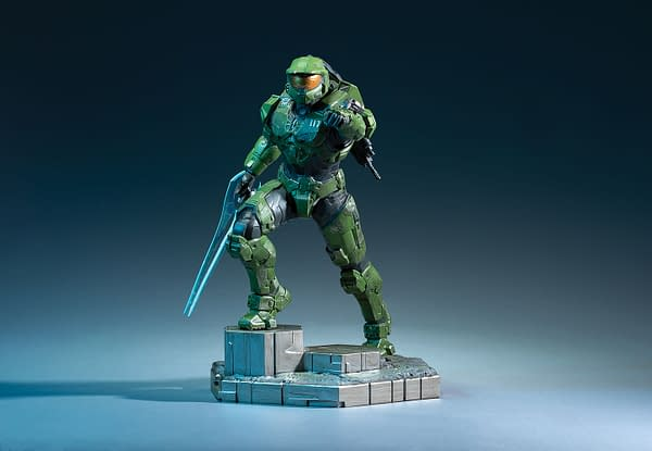 Master Chief receives a new Halo Infinite statue from Dark Horse