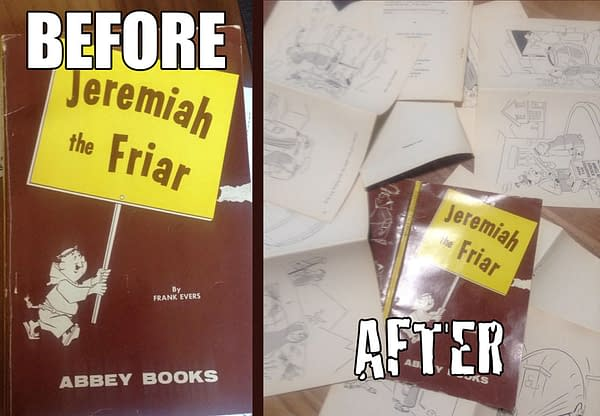 Ripping Apart the Last Known Copy of a 50-Year-Old Comic in Order to Save It…